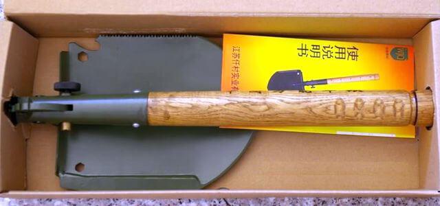 Китайская саперная лопата WJQ-308