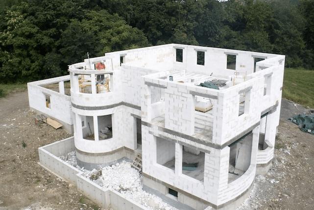 Строительство дома из пенобетона