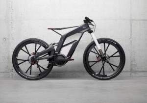Электровелосипед audi e-bike worthersee
