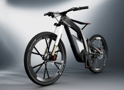 Электровелосипед audi e-bike worthersee