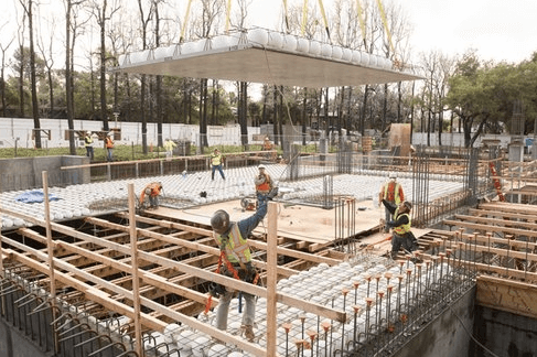 bubbledeck - монолитное строительство