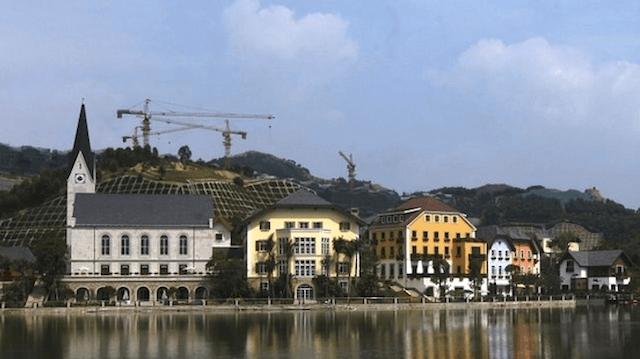 Китайцы клонируют города. Копия Гальштата