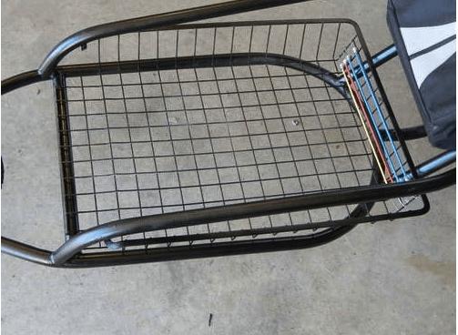 Изготовление корзины для велоприцепа