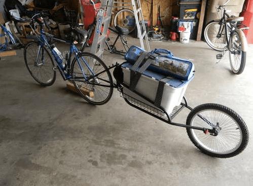 Велосипедный прицеп готов
