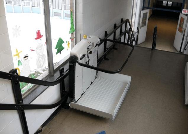 Лифты для лестничных клеток