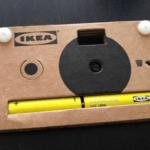 IKEA представила цифровой фотоаппарат из картона