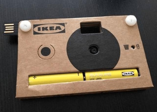 фотоаппарат из картона
