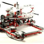 Невиданный принтер из лего, изобретённый 14-летним подростком