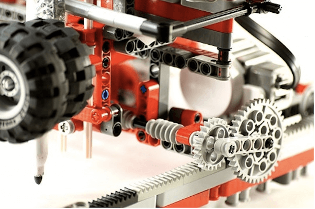 Принтер из лего