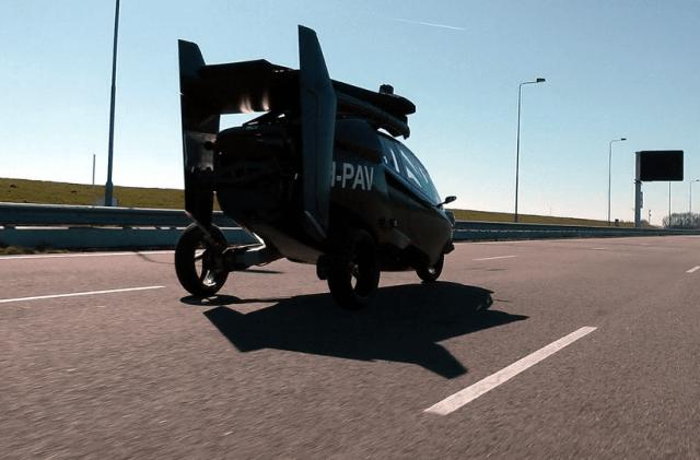 PAL-V ONE - летающий трицикл