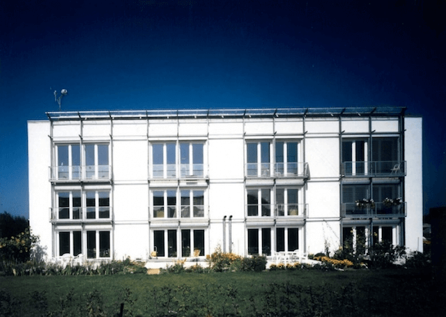 Пассивный дом в Дормштадте