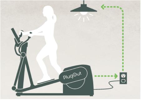 Велотренажер PlugOut