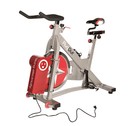 Велотренажер - генератор PlugOut