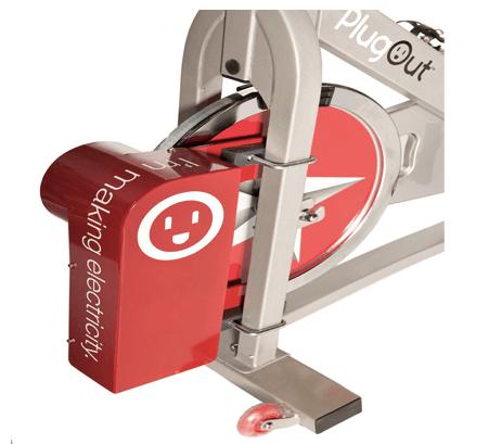 Велотренажер PlugOut. Занимаемся спортом и вырабатываем электроэнергию