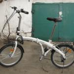 Белорусский раскладной велосипед Спадарожник F-610