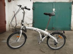 Раскладной велосипед Спадарожник