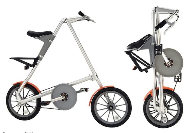 Ракладной имиджевый велосипед strida