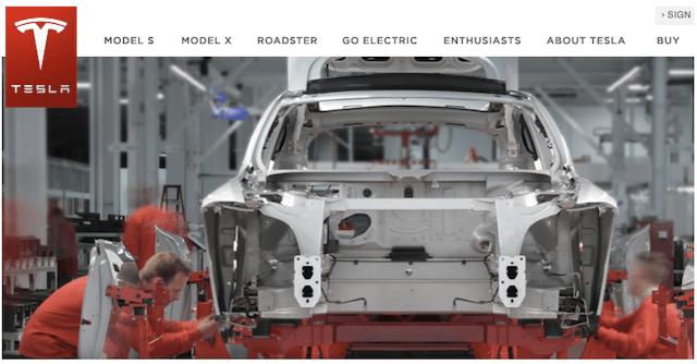Официальный сайт элекромобиля Tesla-model-s