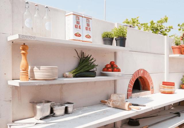 Кухня на открытом воздухе от WWOO
