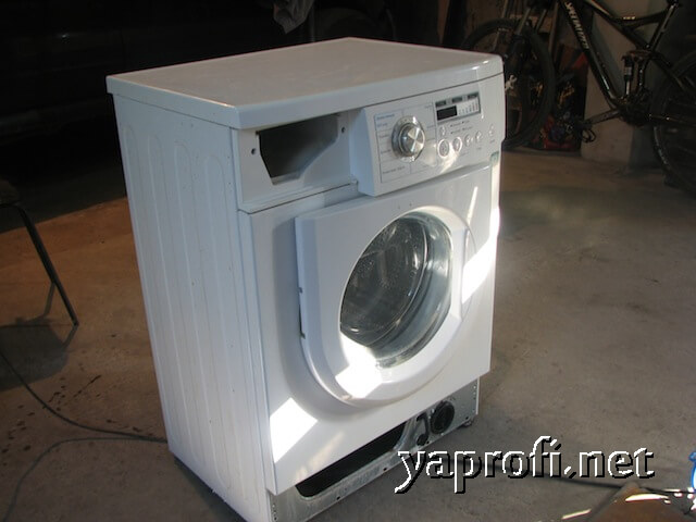 Стиральная машина LG WD20010ND в мастерской