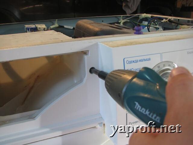 Ремонт стиральной машины LG-WD10200ND - устраняем течь