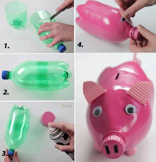 Что можно сделать из пластиковых бутылок своими руками фото