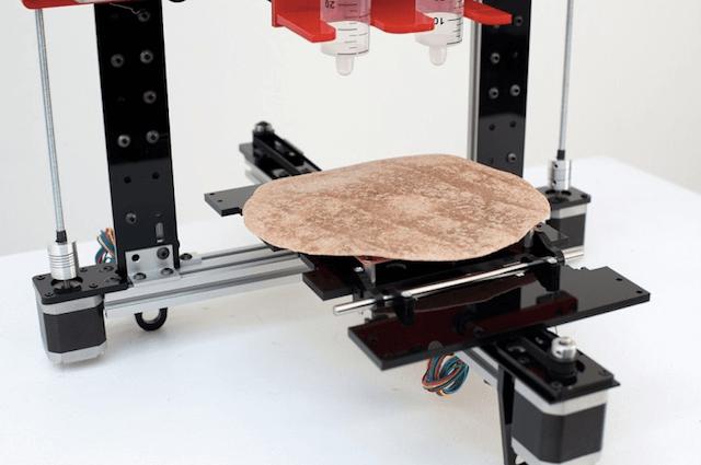 3D принтер для фастфудов