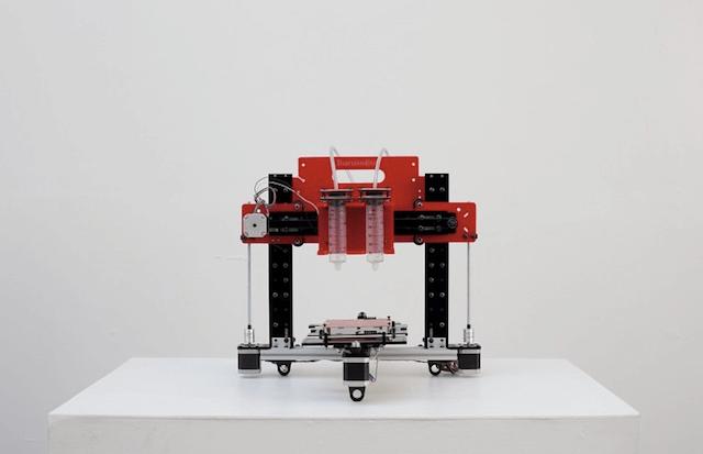 Еда на 3D принтере уже реальность - лепешки буритто