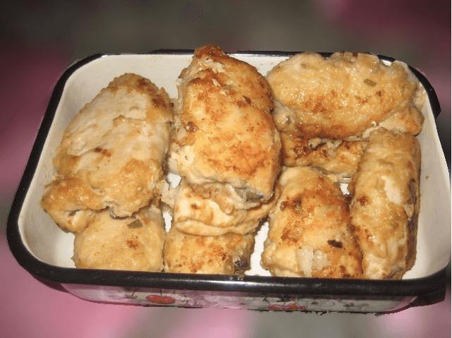 Фаршированные рулетики из куринного филе