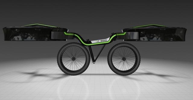 Проект летающего велосипеда