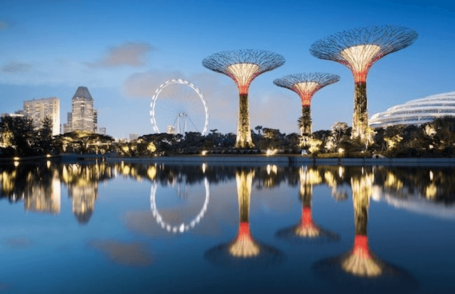 Архитектура и дизайн Gardens by the Bay - уникальный сад в Сингапуре