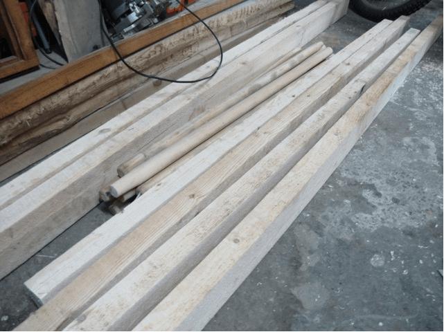 Материалы для шведской стенки
