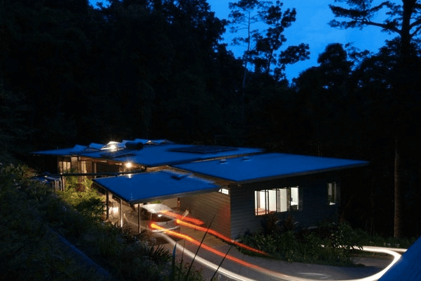 Дом в тропиках Австралии