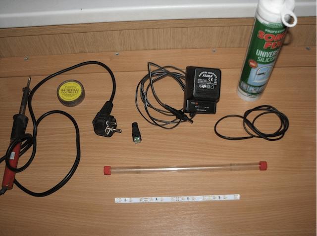 Что надо для изготовления светодиодного светильника