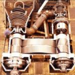 Энергетическая установка современного контейнеровоза
