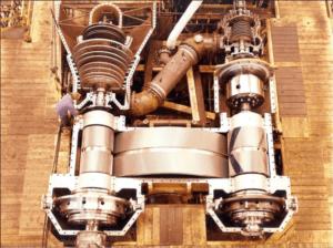 Двигатель танкера