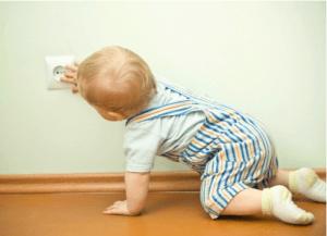 Защита детей от розеток