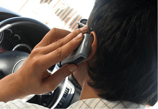 Телефонные разговоры в пробке
