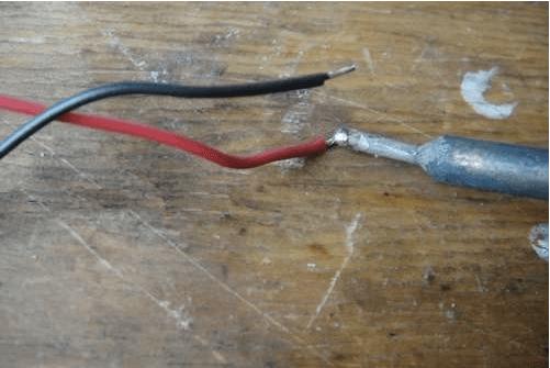 Спаивание проводов
