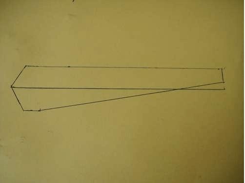 Чертеж лопастей ветрогенератора