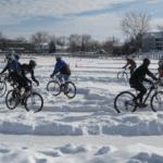 Особенности велосипедной езды зимой