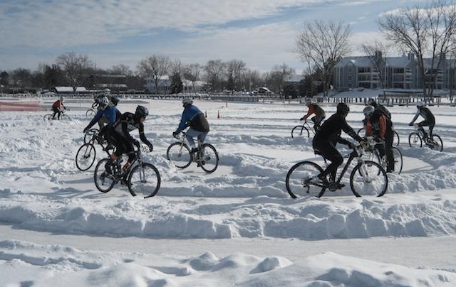 Велосипедная езда зимой
