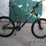 Обслуживание двухподвесного велосипеда Specialized Expert XC