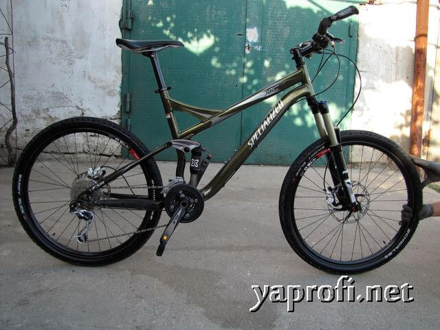 Велосипед Specialized Expert XC - обслуженный и нализанный