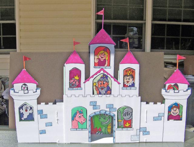 Дворец со сказочными героями