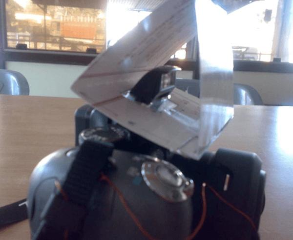 Дефлектор для вспышки