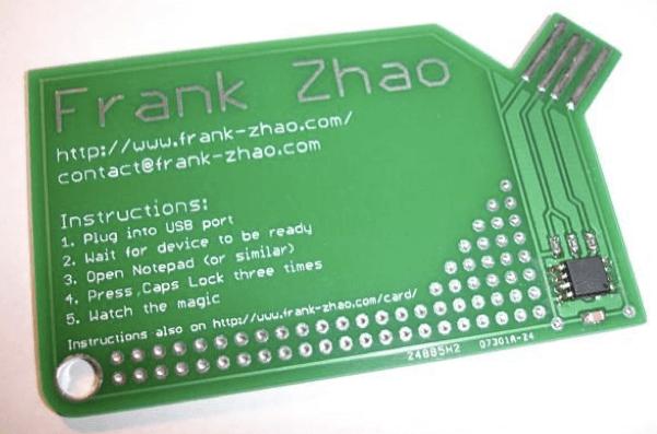 Электронная визитка