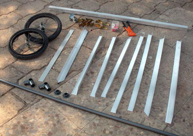 Материалы для велоприцепа