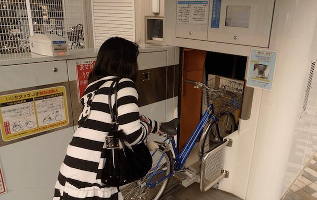 Установка велосипеда в Eco Cycle