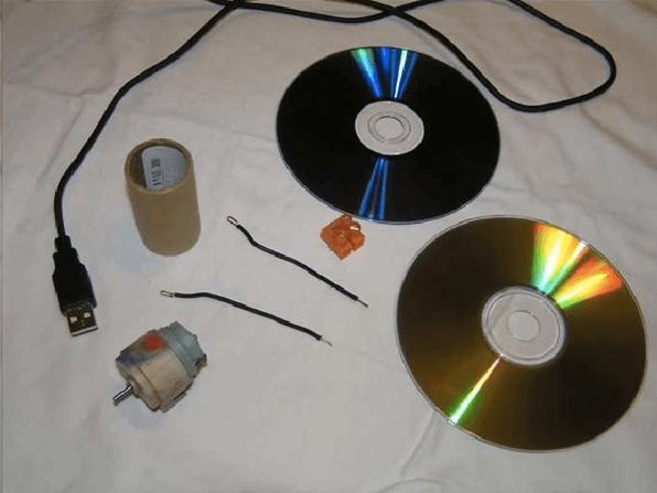 Запчасти для будущего USB вентилятора